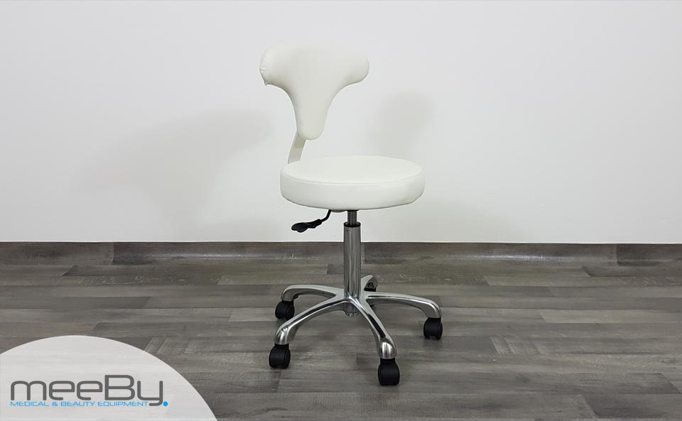 Sgabello estetica sedia estetista regolabile manicure pedicure